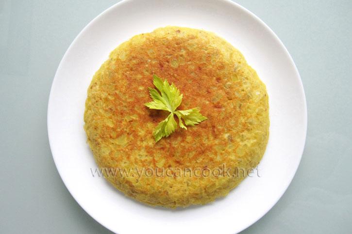 Omelett Rezept nach spanischer Art - Das Powerfrühstück