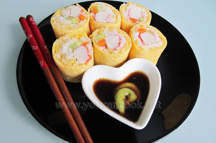 Sushi Rezept - Eine leckere Variante mit Ei
