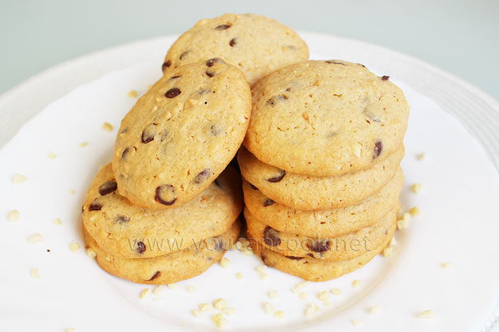 Cookies backen - Chocolate Chip Cookies Rezept