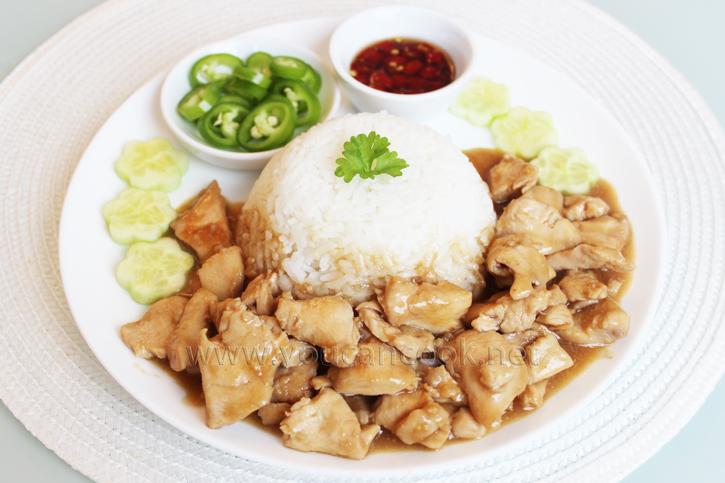 Hähnchen Marinade Rezept - Einfaches Gericht mit Reis