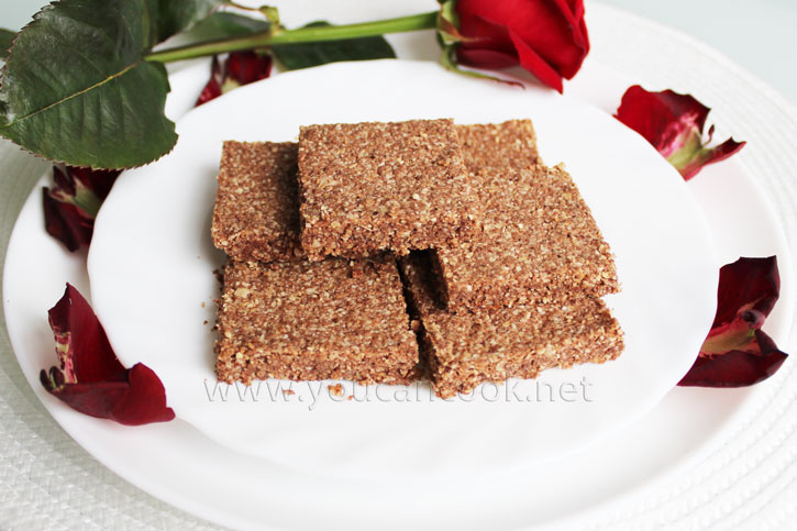 Nussschnitten Rezept mit Kokos- und Schokoladengeschmack