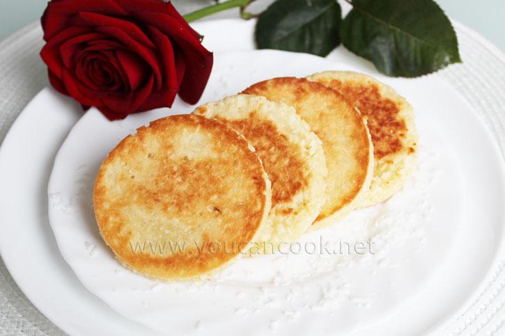 Rezept für Pancakes mit Kokos nach thailändischer Art