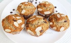 Schoko-Bananen-Muffins
