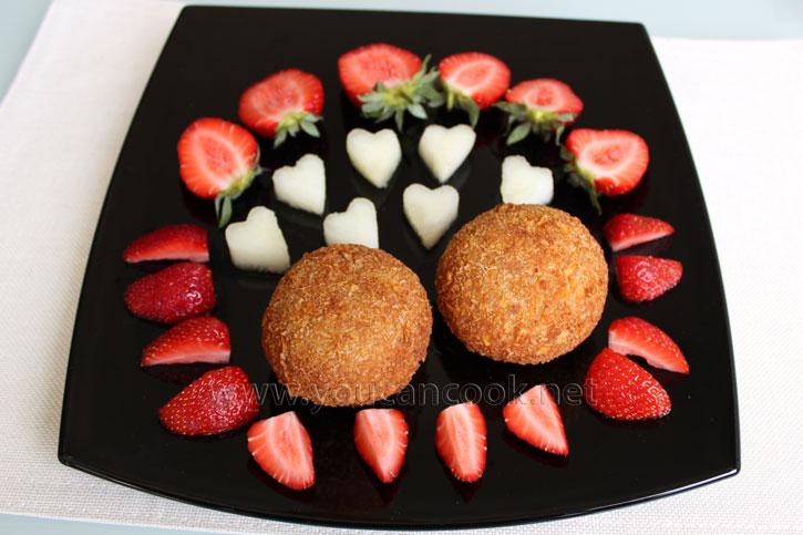 Frittiertes Eis Rezept - Passendes Dessert für heiße Tage