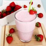 Erdbeer-Milchshake-Rezept