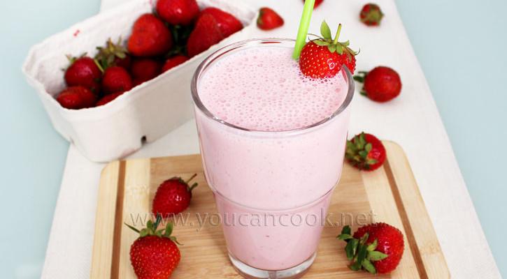Erdbeer Milchshake Rezept – Erfrischende Som...