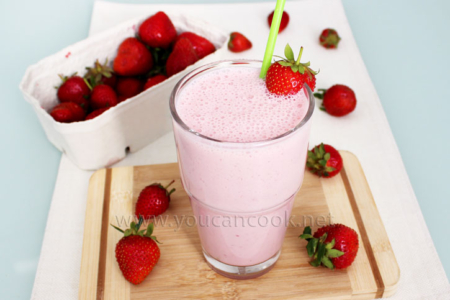 Erdbeer Milchshake Rezept