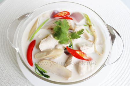Tom Kha Gai Suppe